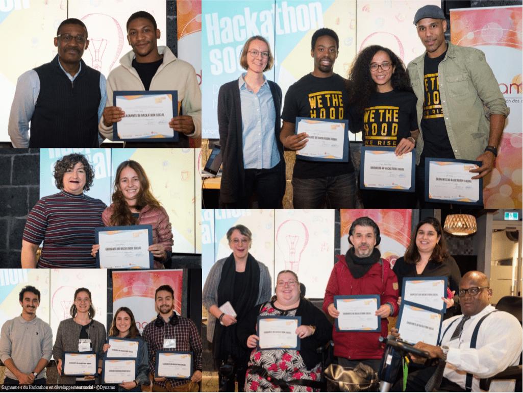Gagnants Hackathon social de Dynamo