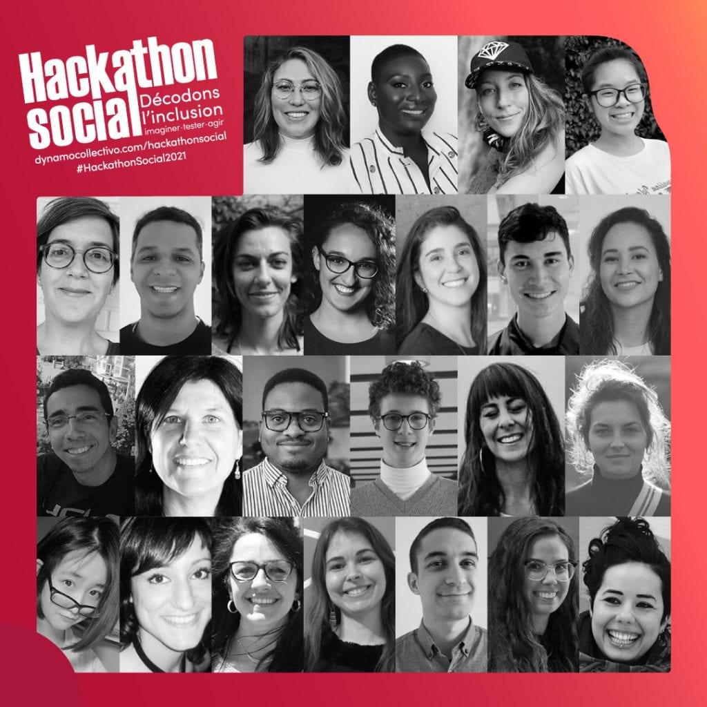 Les gagnantes et gagnants du Hackathon social 2021
