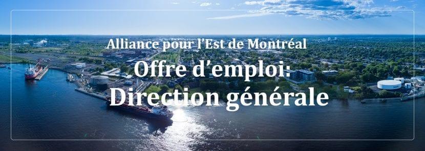 Direction générale | Alliance pour l'Est de Montréal